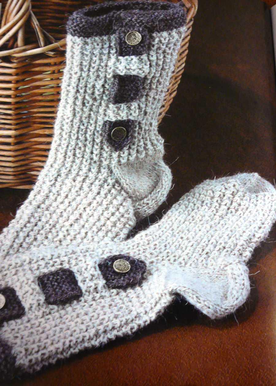 Вязаные носки своими руками фото 42