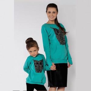 Юбочки для мамы и дочки с накладными карманами